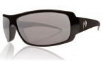 Electric Charge Sunglasses Sunglasses - Gloss Black / Grey Silver Visual Evolution Polarized Level II