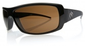 Electric Charge Sunglasses Sunglasses - Gloss Black / Bronze Mineral Glass Polarized Level III