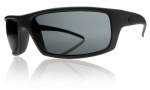 Electric Technician Sunglasses Sunglasses - Mate Black / Grey Poly Polarized Level I