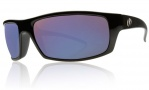 Electric Technician Sunglasses Sunglasses - Gloss Black / Grey Blue Visual Evolution Polarized Level II