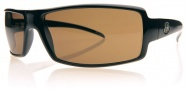 Electric EC DC Sunglasses Sunglasses - Gloss Black / Bronze Mineral Glass Polarized Level III