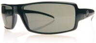 Electric EC DC Sunglasses Sunglasses - Gloss Balck / Grey Poly Polarized Level I