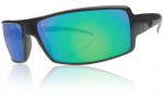 Electric EC DC Sunglasses Sunglasses - Matte Black / Grey Green Chrome