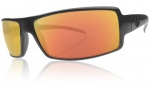 Electric EC DC Sunglasses Sunglasses - Matte Black / Grey Fire Chrome