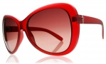 Electric Magenta Sunglasses Sunglasses - Gloss White / Grey Gradient Lens