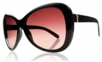 Electric Magenta Sunglasses Sunglasses - Gloss Black / Brown Gradient Lens