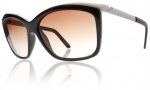 Electric Plexi Sunglasses Sunglasses - Gloss Black / Brown Gradient Lens