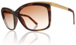 Electric Plexi Sunglasses Sunglasses - Matte Tortoise Shell / Brown Gradient