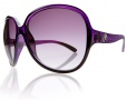 Electric Rockabye Sunglasses Sunglasses - Purple Black Fade / Grey Gradient Lens