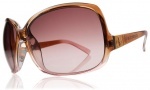 Electric Lovette Sunglasses Sunglasses - Brown Rose Fade / Brown Gradient Lens