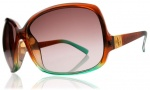 Electric Lovette Sunglasses Sunglasses - Brown Mint Fade / Brown Gradient Lens