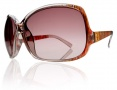 Electric Lovette Sunglasses Sunglasses - Melon Twist / Brown Gradient Lens
