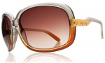 Electric Hightone Sunglasses Sunglasses - Smoke Brown Fade / Brown Gradient Lens