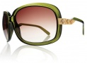 Electric Hightone Sunglasses Sunglasses - Olive / Brown Gradient Lens