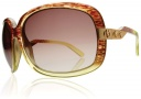 Electric Hightone Sunglasses Sunglasses - Spanish Moss / Brown Gradient Lens