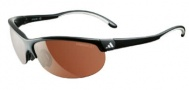 Adidas A170 Adizero/L Sunglasses Sunglasses - 6050 Shiny Black / White