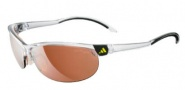 Adidas A170 Adizero/L Sunglasses Sunglasses - 6053 Shiny / Transparent / Black