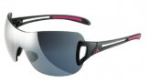 Adidas A383 Adilibria Shield/L Sunglasses Sunglasses - 6058 Shiny Black / Gray Silver Gradient