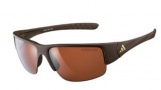 Adidas A379 Mactelo Sunglasses Sunglasses - 6055 Matte Dark Chocolate