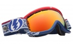 Electric EG.5S Goggles Goggles - Andreas Wilg / Bronze Red Chrome Lens