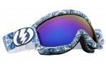 Electric EG.5S Goggles Goggles - Guru / Bronze Blue Chrome Lens