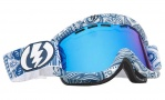 Electric EG1 Goggles Goggles - Guru / Bronze Blue Chrome Lens