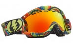 Electric EG1 Goggles Goggles - Freak Out / Bronze Red Chrome Lens