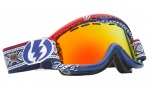 Electric EG1 Goggles Goggles - Andreas Wilg / Bronze Red Chrome Lens