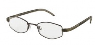 Adidas A997 Eyeglasses Eyeglasses - 6054 Brown Shiny / Brown