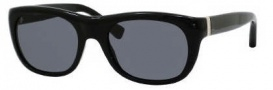 Yves Saint Laurent 2304/S Sunglasses Sunglasses - 0807 Black / T9 Smoke Gray Lens
