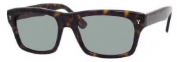 Yves Saint Laurent 2305/S Sunglasses Sunglasses - 0086 Dark Havana / D5 Green Foster Lens