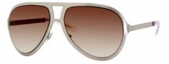 Yves Saint Laurent 2311/S Sunglasses Sunglasses - 063W Light Gold Brushed / 42 Brown Mirror Lens