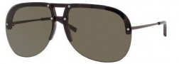 Yves Saint Laurent 2318/S Sunglasses Sunglasses - 092O Olive Brown / 70 Brown Lens