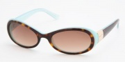 Ralph by Ralph Lauren RA5003 Sunglasses Sunglasses - 601/13 Light Tortoise / Turquoise Brown Gradient