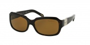 Ralph by Ralph Lauren RA5049 Sunglasses Sunglasses - 510/83 Dark Tortoise / Polarized Brown