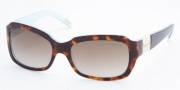 Ralph by Ralph Lauren RA5049 Sunglasses Sunglasses - 601/13 Light Tortoise / Turquoise Brown Gradient