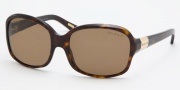Ralph by Ralph Lauren RA5059 Sunglasses Sunglasses - 510/83 Dark Tortoise / Polarized Brown
