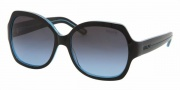 Ralph by Ralph Lauren RA5108 Sunglasses Sunglasses - 867/17 Black Blue / Blue Gray Gradient