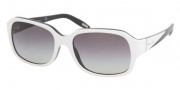 Ralph by Ralph Lauren RA5122 Sunglasses Sunglasses - 812/11 White Black / Gray Gradient