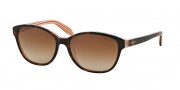 Ralph by Ralph Lauren RA5128 Sunglasses Sunglasses - 977/13 Amber Orange Stripes / Brown Gradient