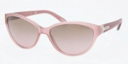 Ralph by Ralph Lauren RA5132 Sunglasses Sunglasses - 102514 Matte Pink / Brown Gradient Pink