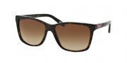 Ralph by Ralph Lauren RA5141 Sunglasses Sunglasses - 107213 Tort Plaid / Brown Gradient