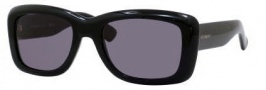 Yves Saint Laurent 2320/S Sunglasses Sunglasses - 0807 Black / R6 Gray Lens