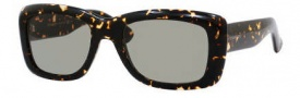 Yves Saint Laurent 2320/S Sunglasses Sunglasses - 0IL5 Havana Spotted / DJ Green Lens