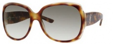Yves Saint Laurent 6286/S Sunglasses Sunglasses - 0FPN Havana Honey / ZW Dark Green Gradient Lens