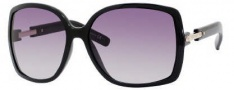 Yves Saint Laurent 6288/S Sunglasses Sunglasses - 0D28 Shiny Black / N3 Gray Gradient Lens