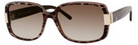 Yves Saint Laurent 6300/S Sunglasses Sunglasses - 0MOM Panther / CC Brown Gradient Lens