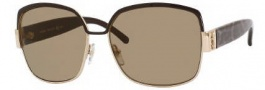 Yves Saint Laurent 6301/S Sunglasses Sunglasses - 0I1K Gold Brown Panther / X7 Brown Lens