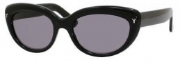 Yves Saint Laurent 6319/S Sunglasses Sunglasses - 0807 Black / BN Dark Gray Lens