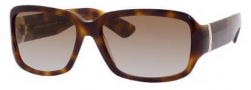 Yves Saint Laurent 6325/S Sunglasses Sunglasses - 005L Havana / 81 Brown Gray Gradinet Lens
